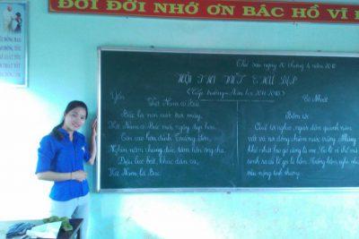 Kế Hoạch tổ chức Hội thi Viết chữ đẹp GV-HS cấp trường năm học 2017-2018